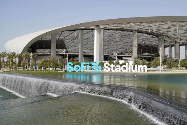 SoFi Stadium entrance