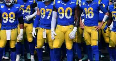 Michael Brockers, Aaron Donald, Jared Goff